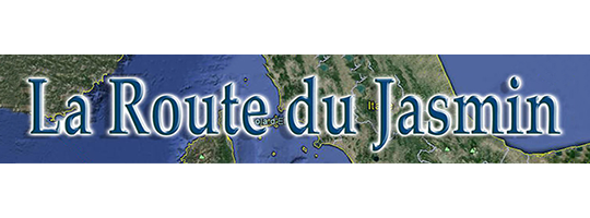 LA ROUTE DU JASMIN logo