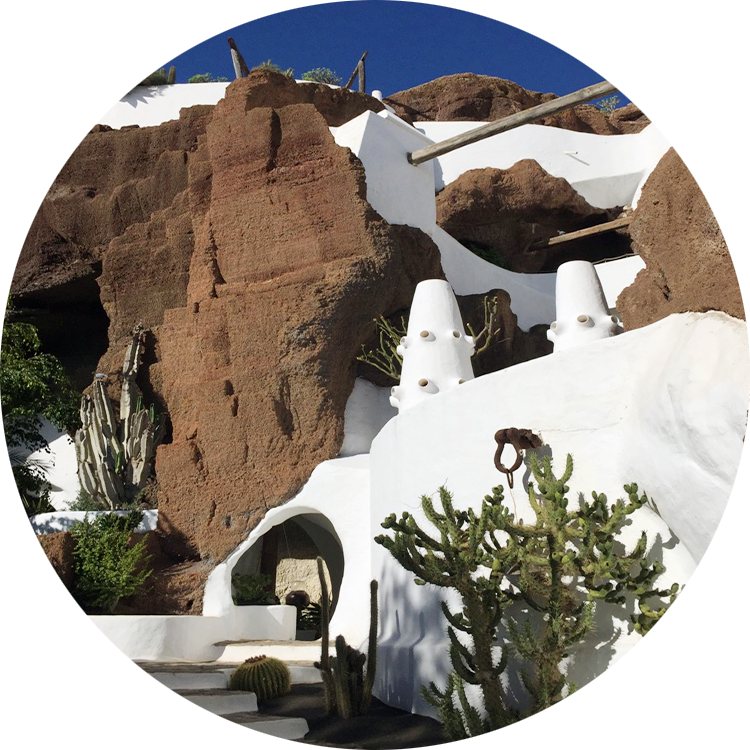 Canarian Rock Building